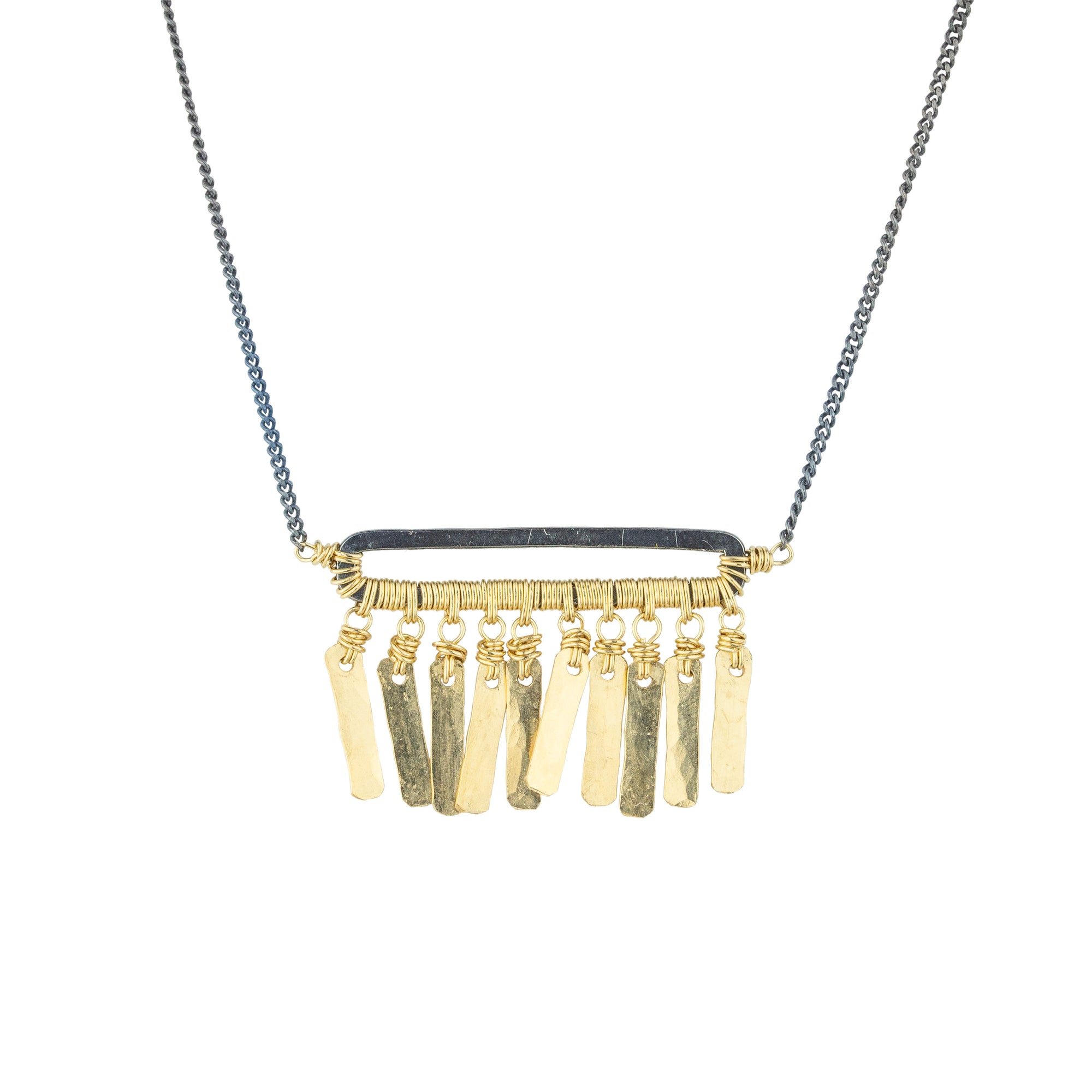 Fringe Bar Necklace