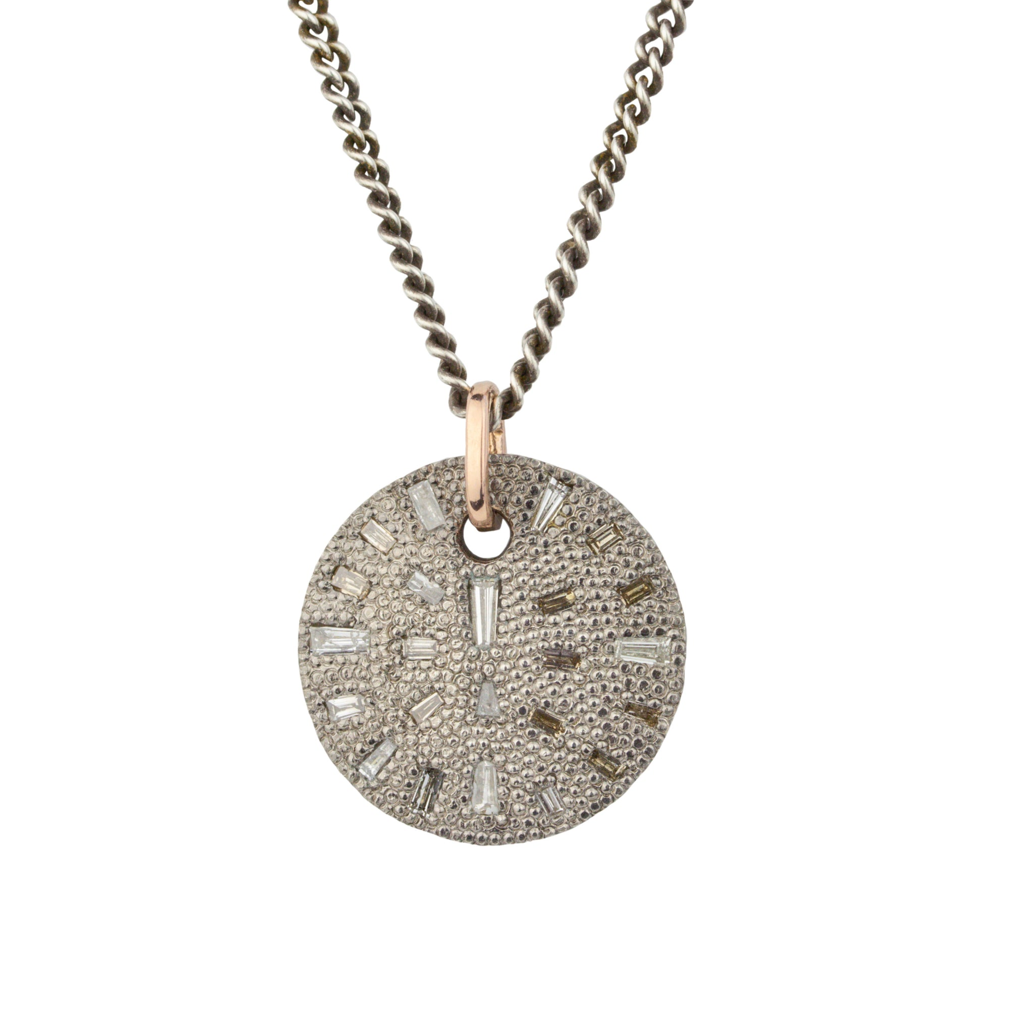 Binx Baguette Diamond Necklace