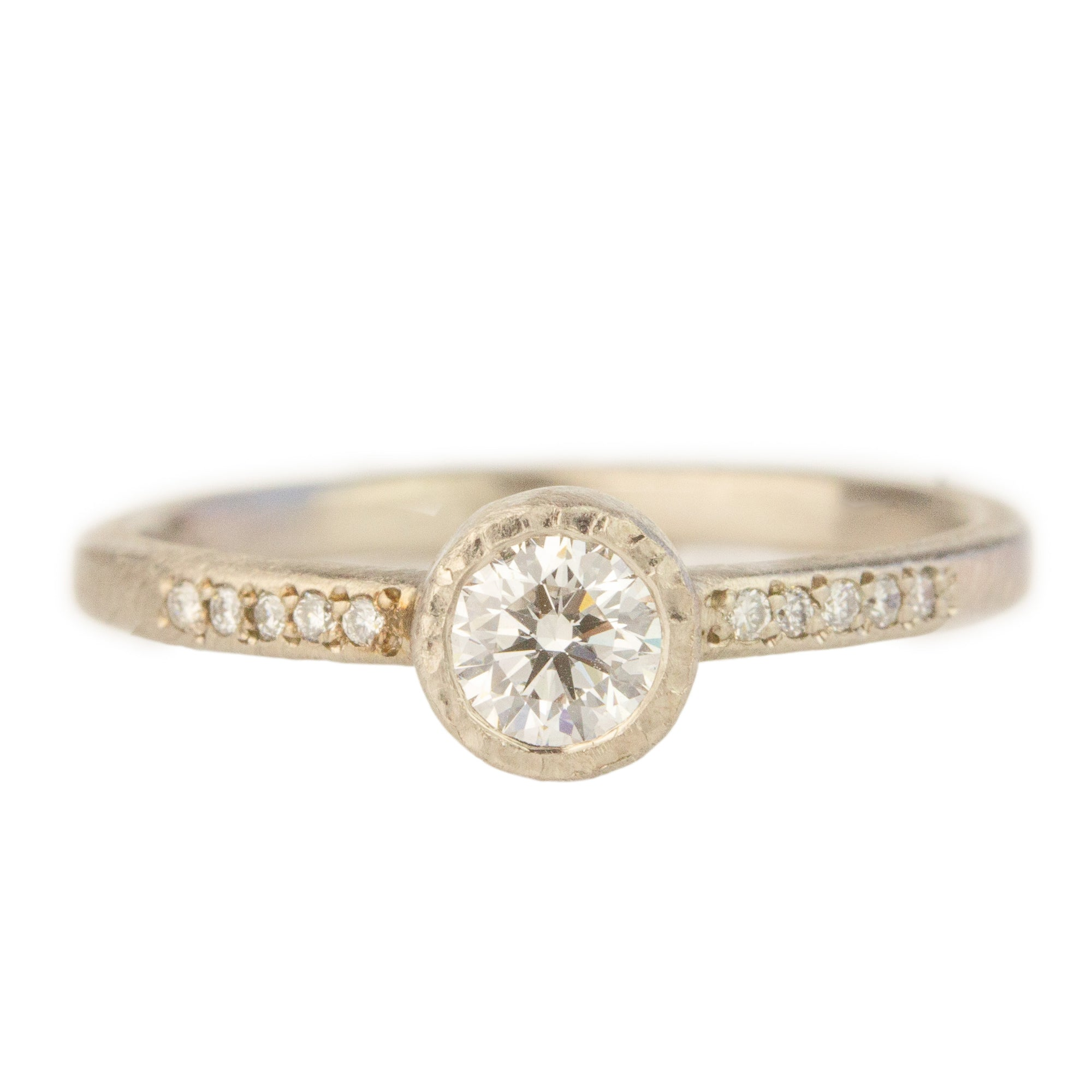 Brilliant Round Diamond Ring