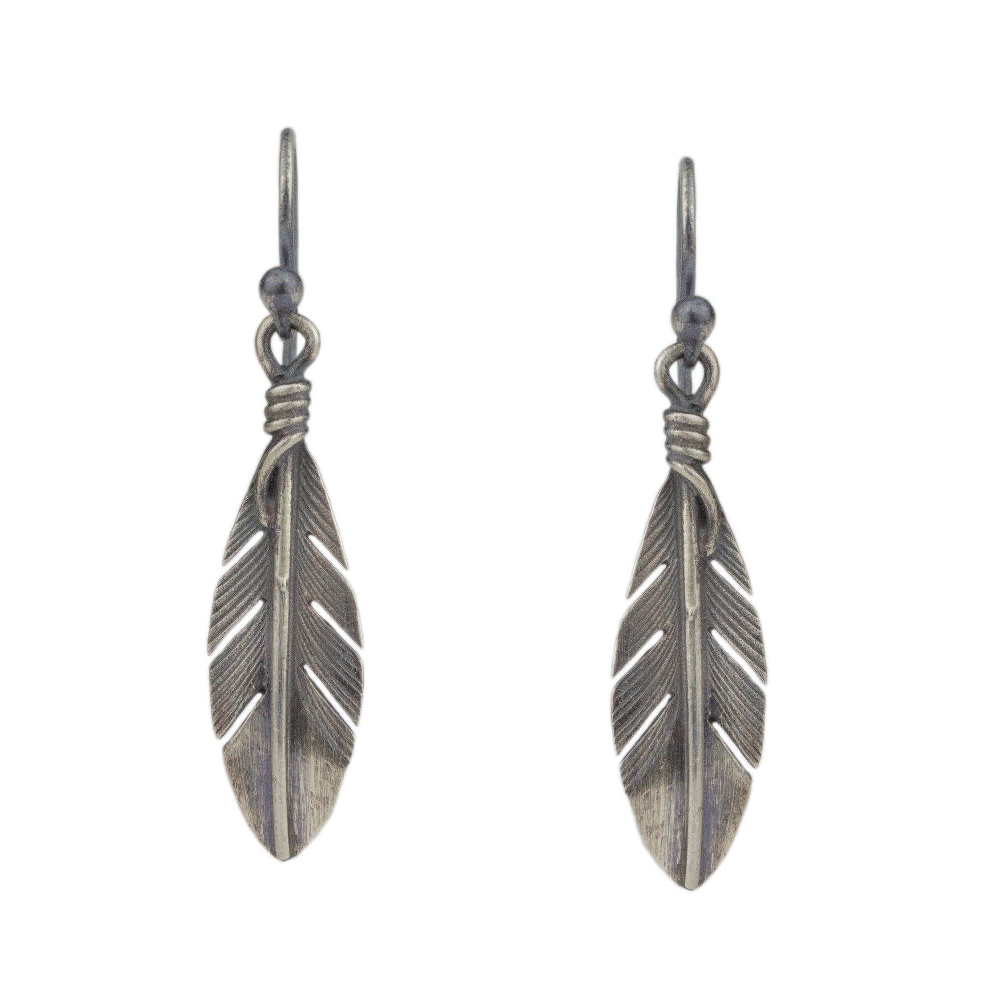 Feather Earrings No.8