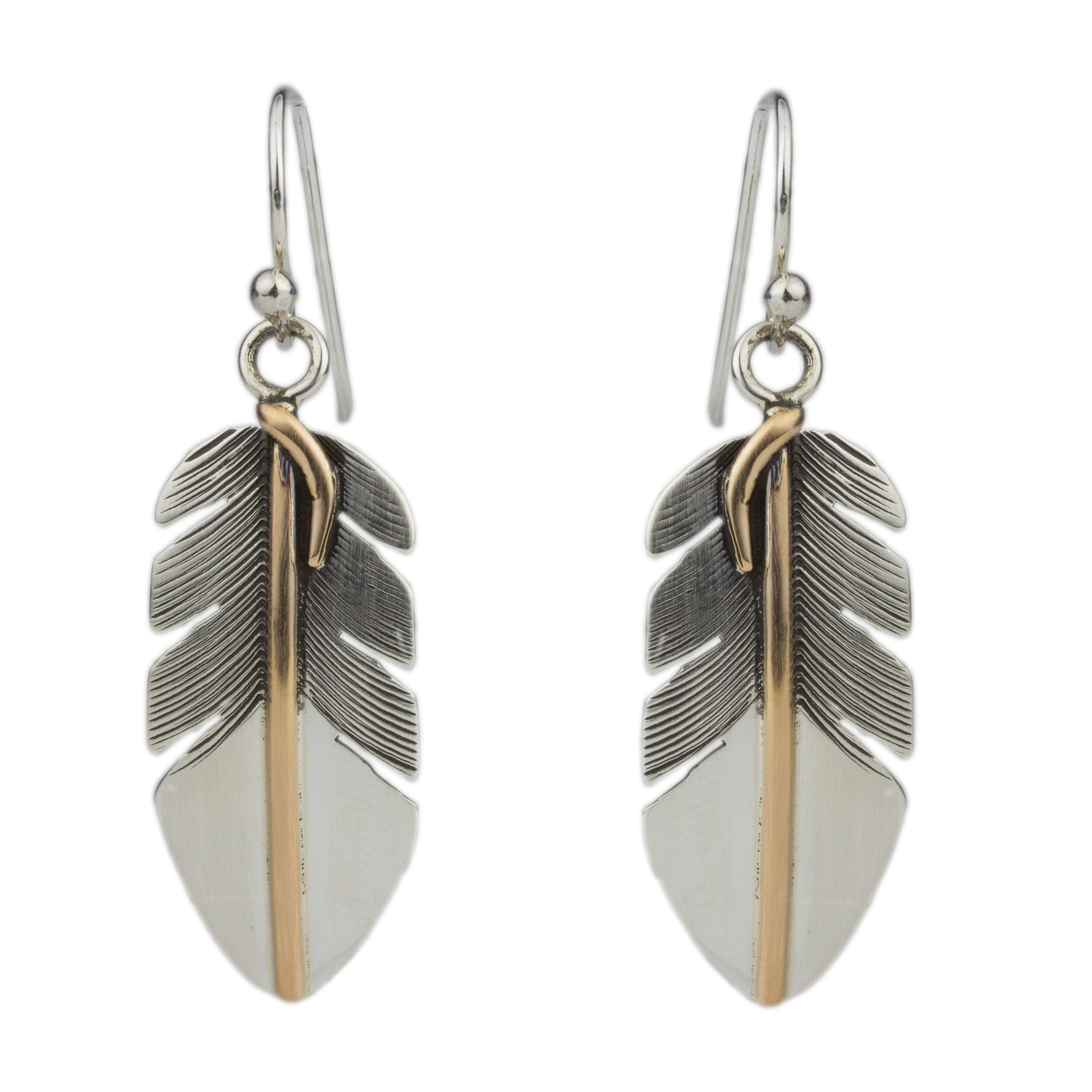 Feather Earrings No.6