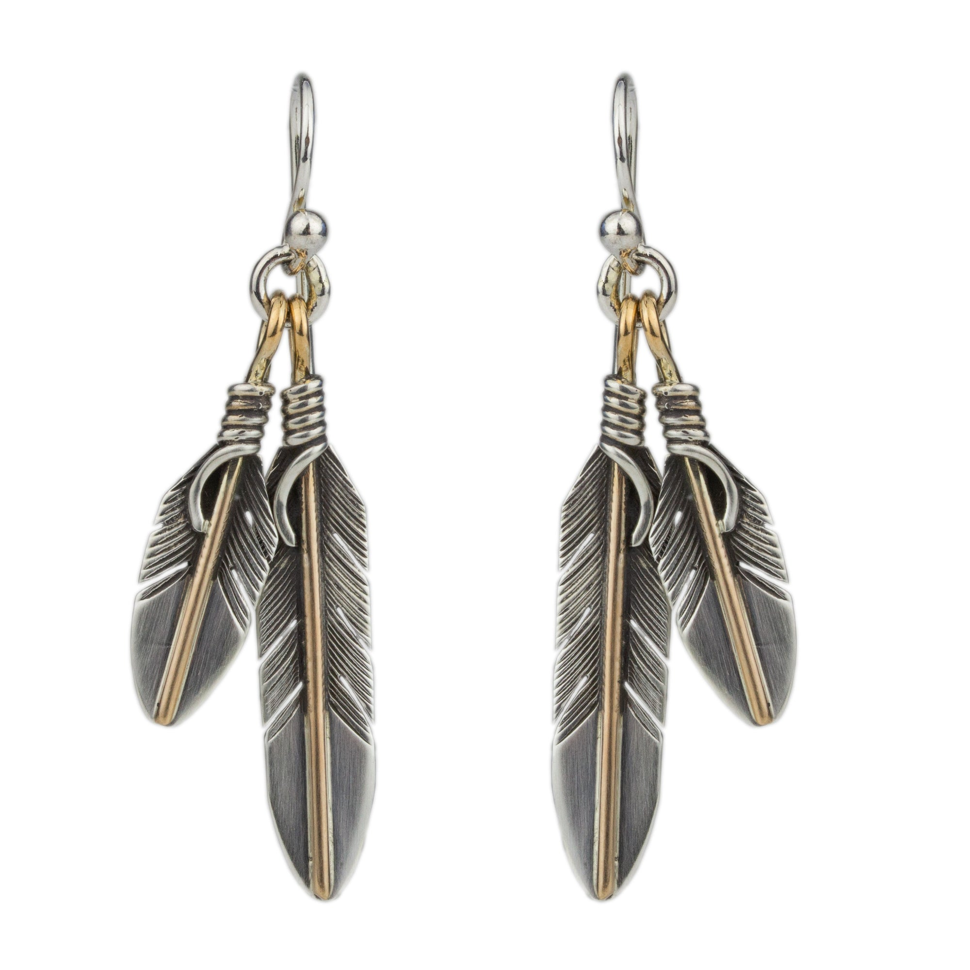 Feather Earrings No.3