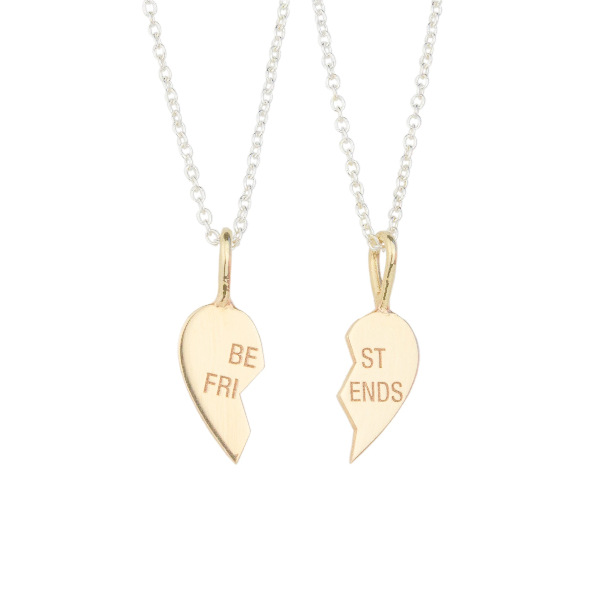 """Best Friends"" Necklace Set"