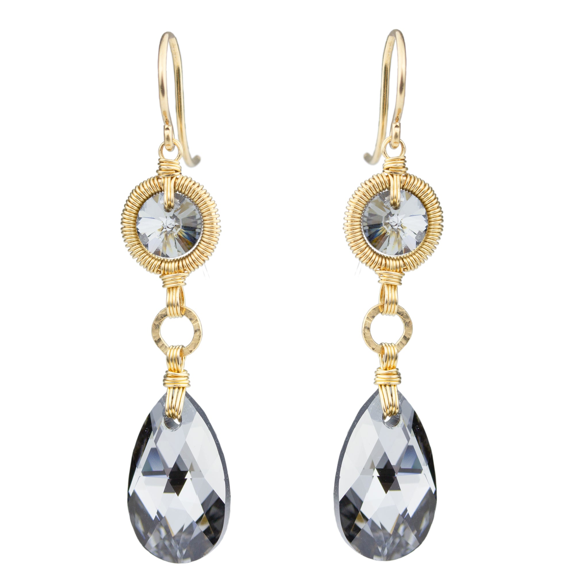 Double Drop Sparkle Earrings