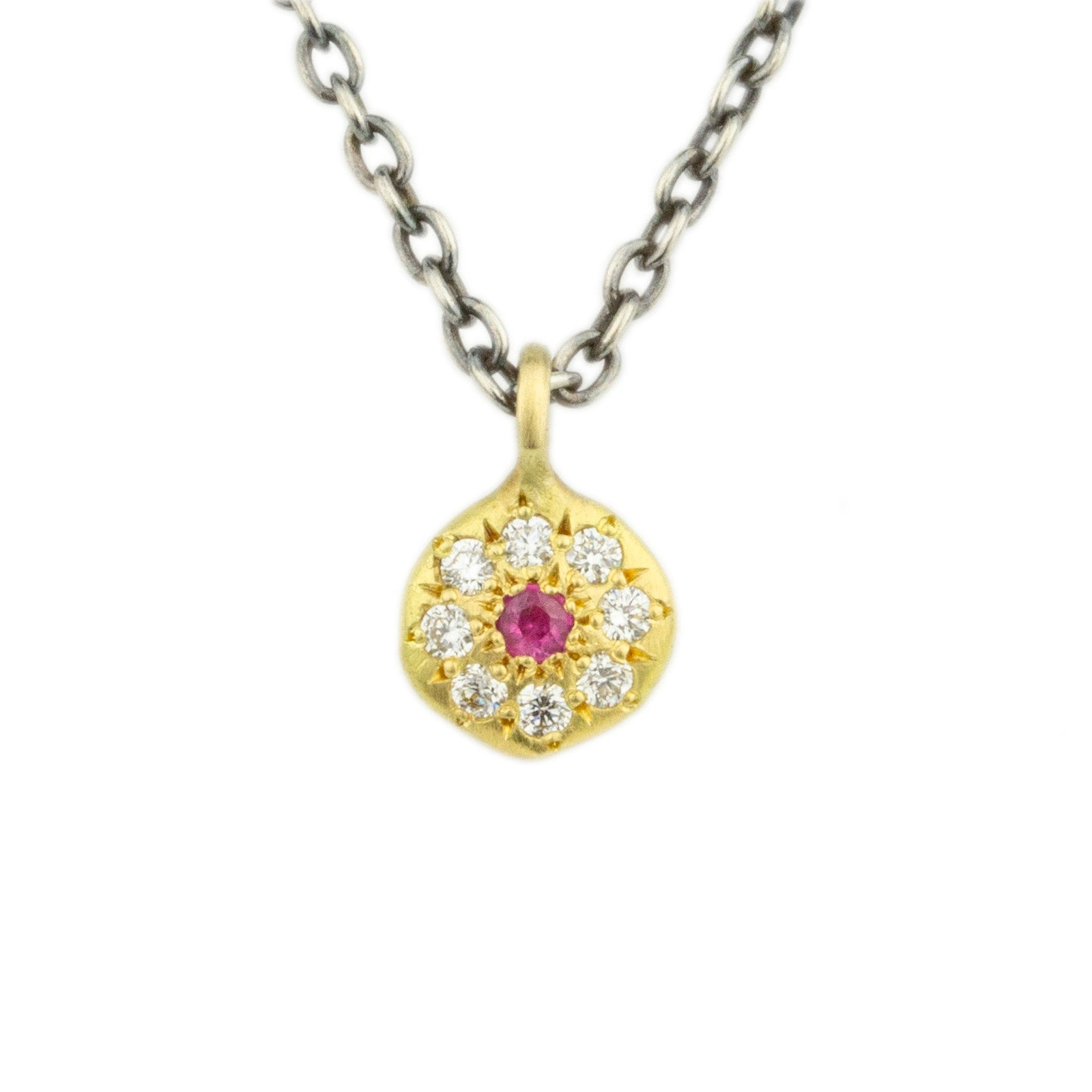 Floret Charm Necklace