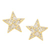 Geometric Star Stud Earrings