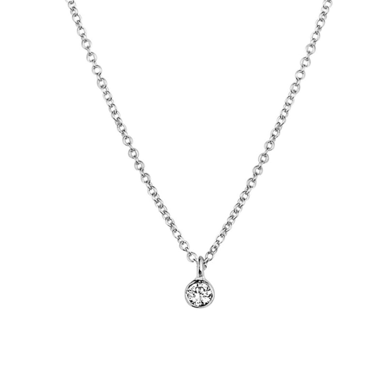 Just A Diamond .07ct Necklace
