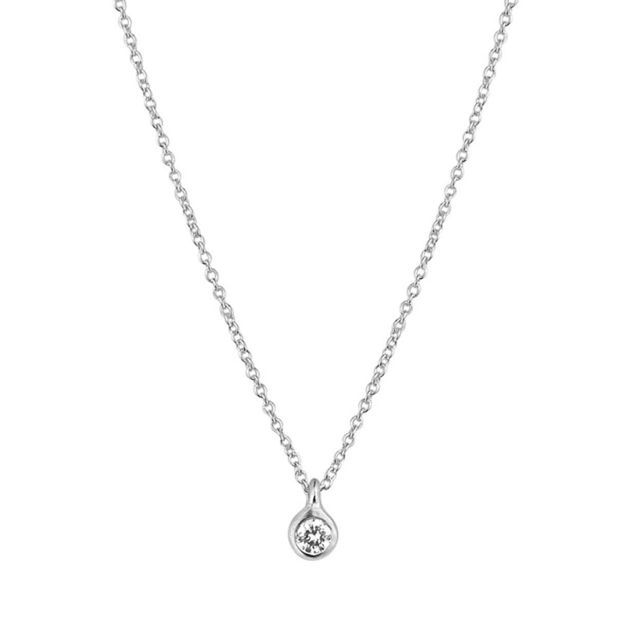 Just A Diamond .12ct Necklace