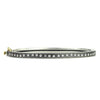 Thin Rene Diamond Wave Bracelet