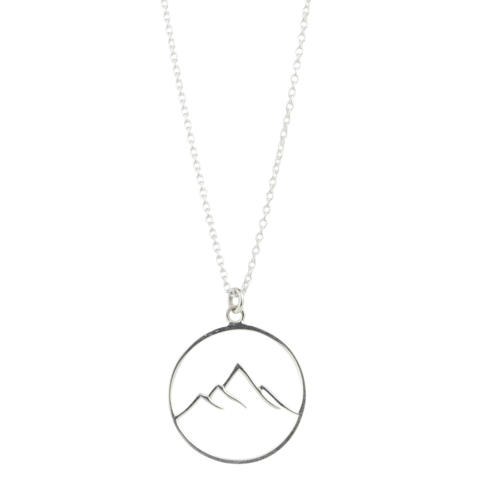 Double Mountain Necklace