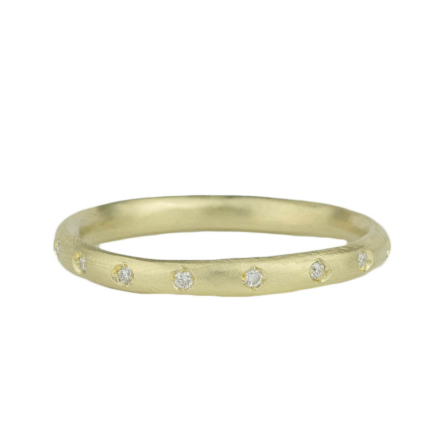 Pod Band w. 16 Diamonds Ring