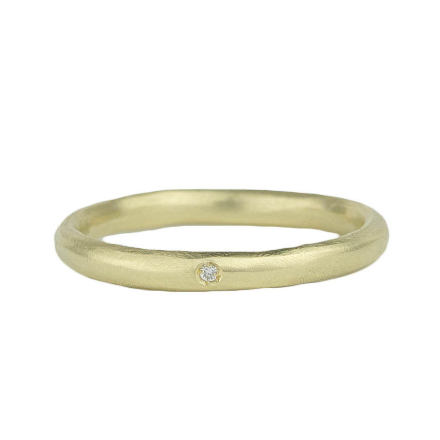 Pod Band w. 1 Diamond Ring