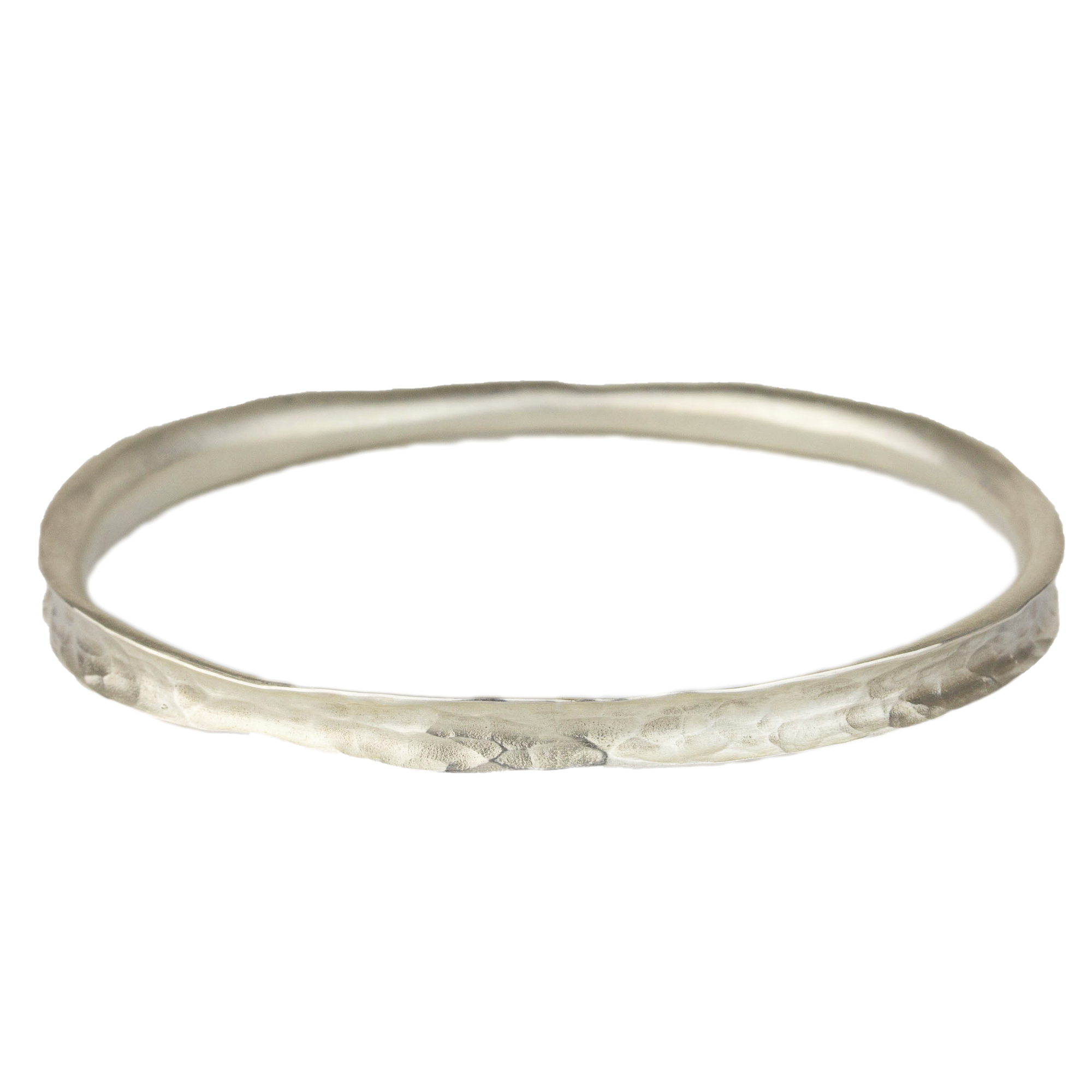 Hammered Curl Bangle