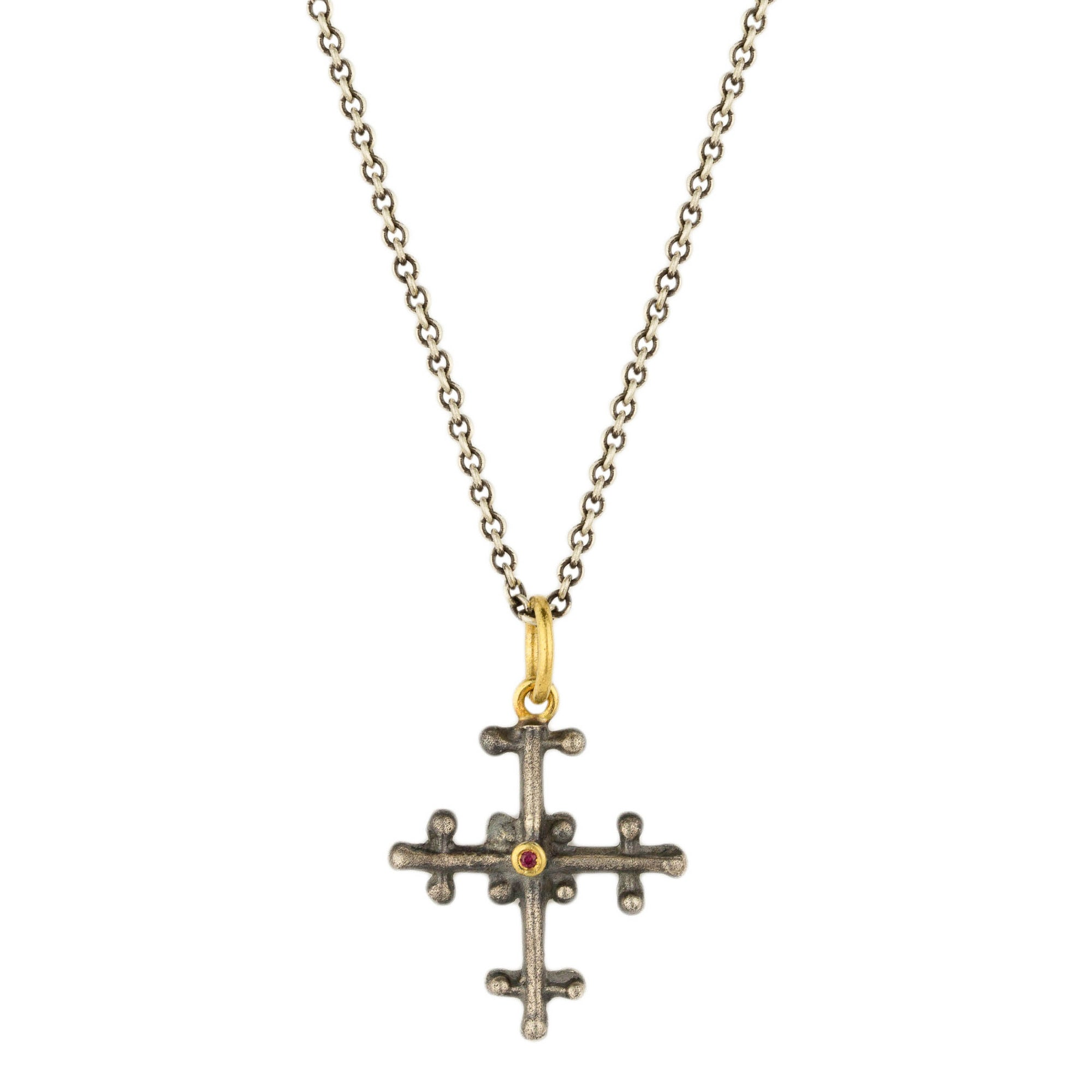 Lacey Cross Necklace