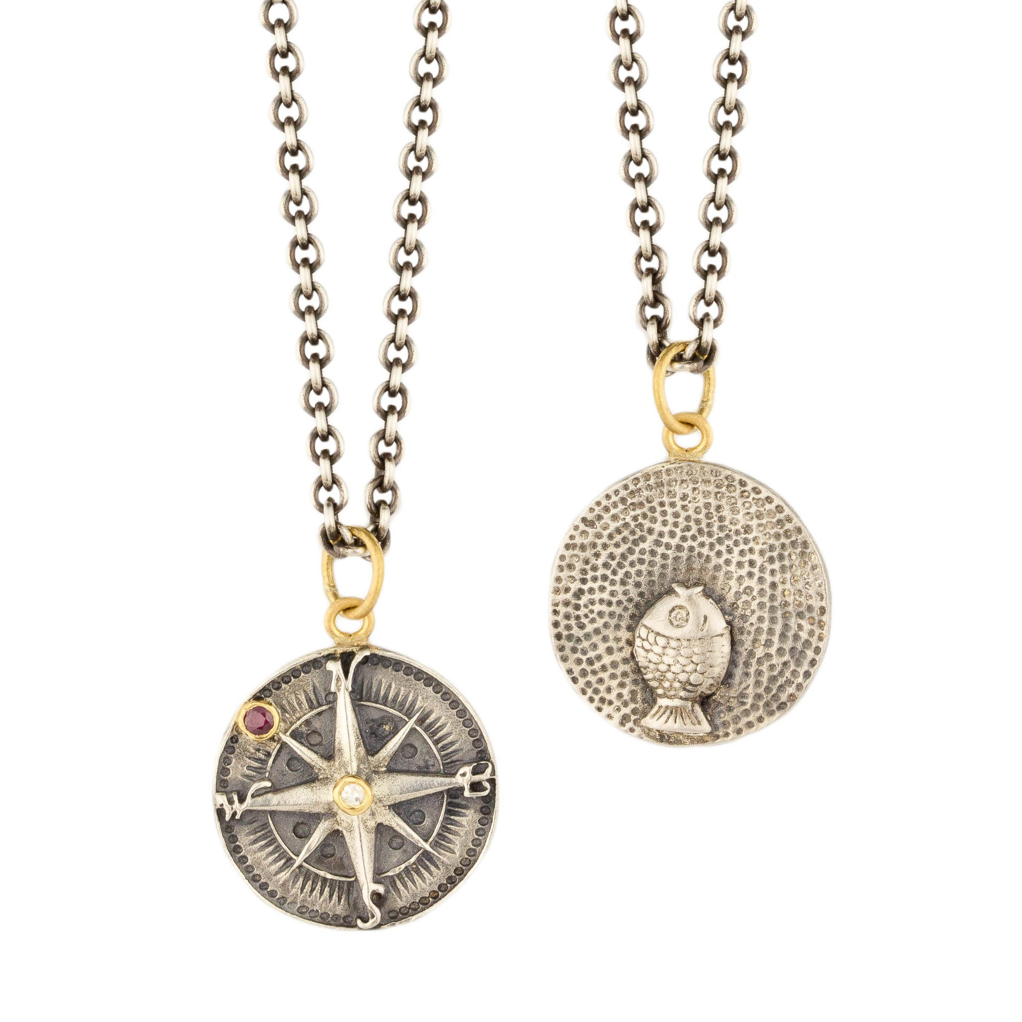 Maritime Compass Necklace