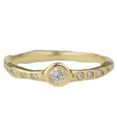 Spark Solitaire Ring