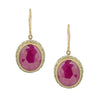 Indian Ruby Earrings