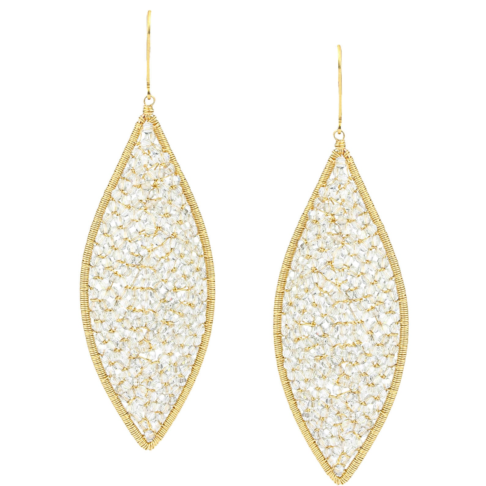 Marquis Mosaic Earrings