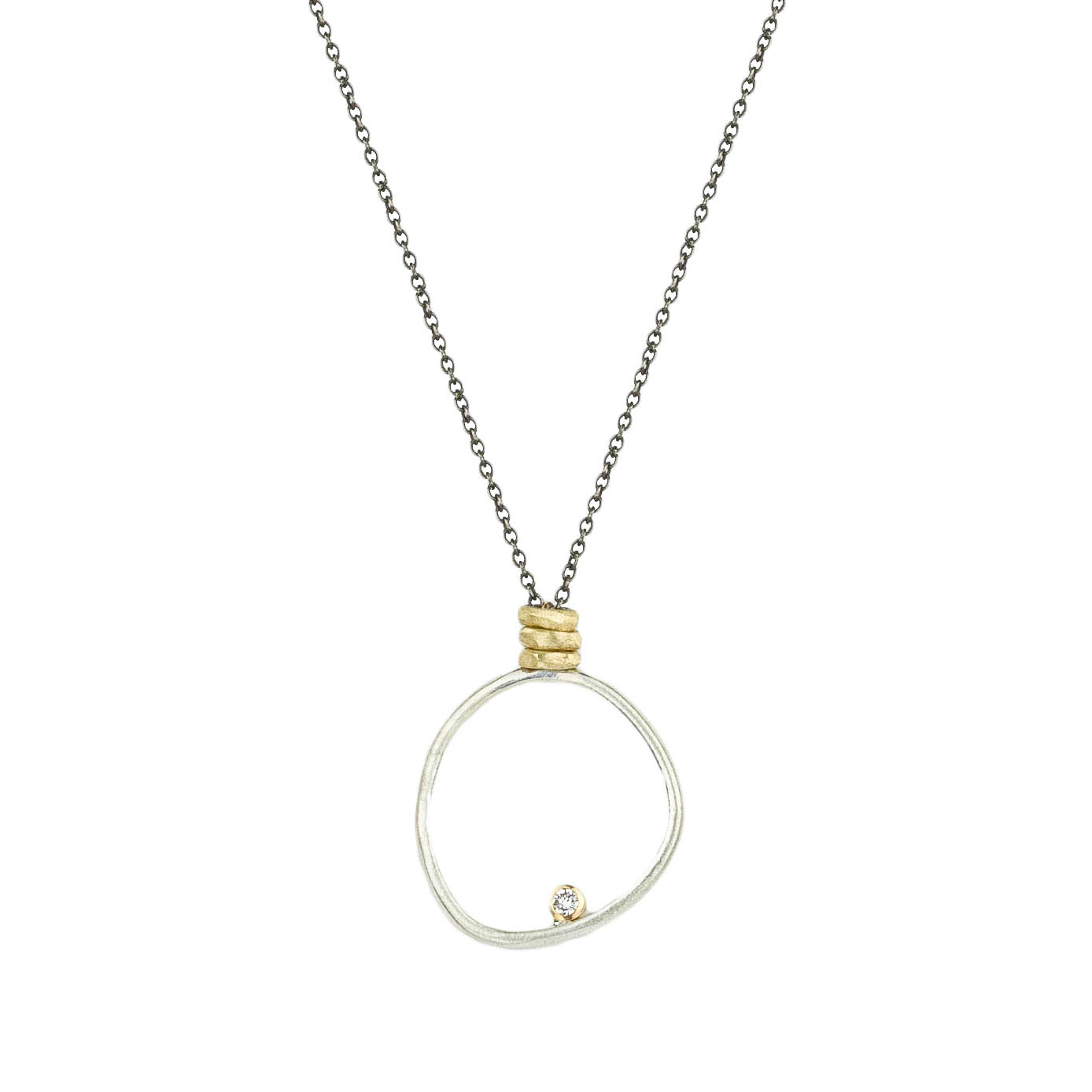 Medium Halo Necklace