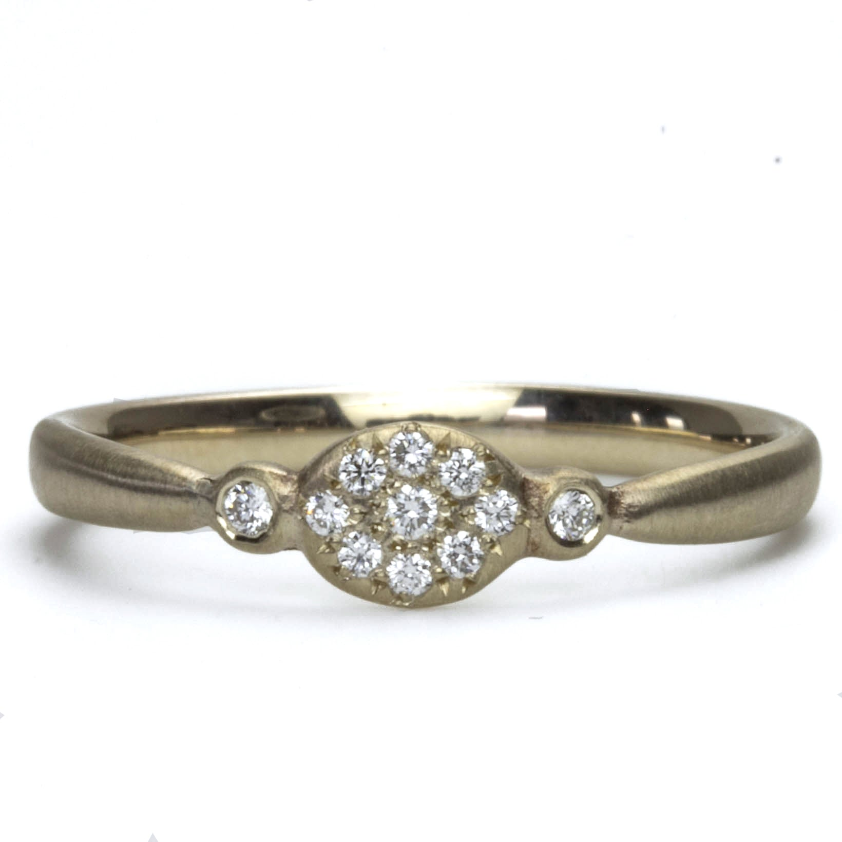 Floret Diamond Ring
