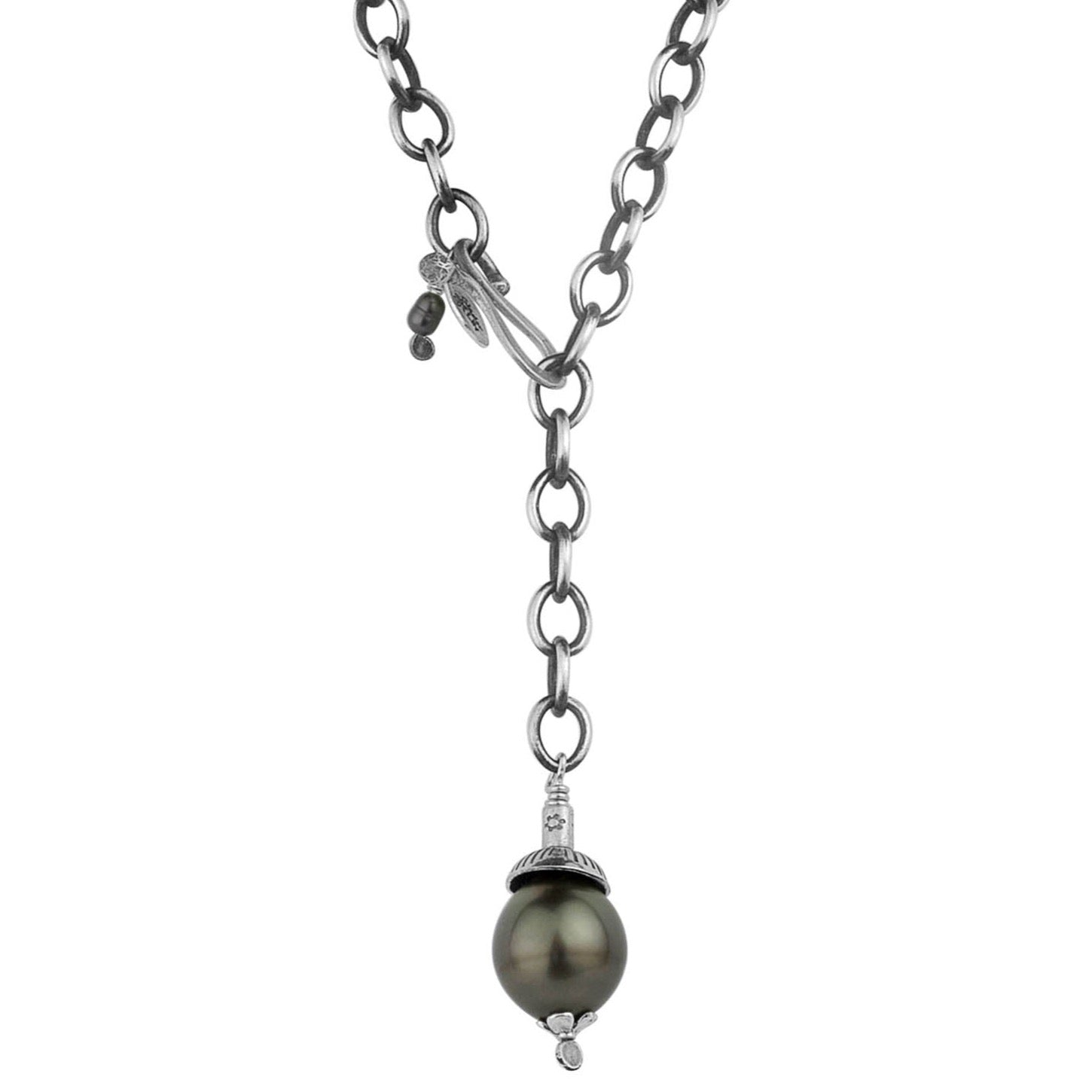 Tahitian Pearl Lariat Necklace