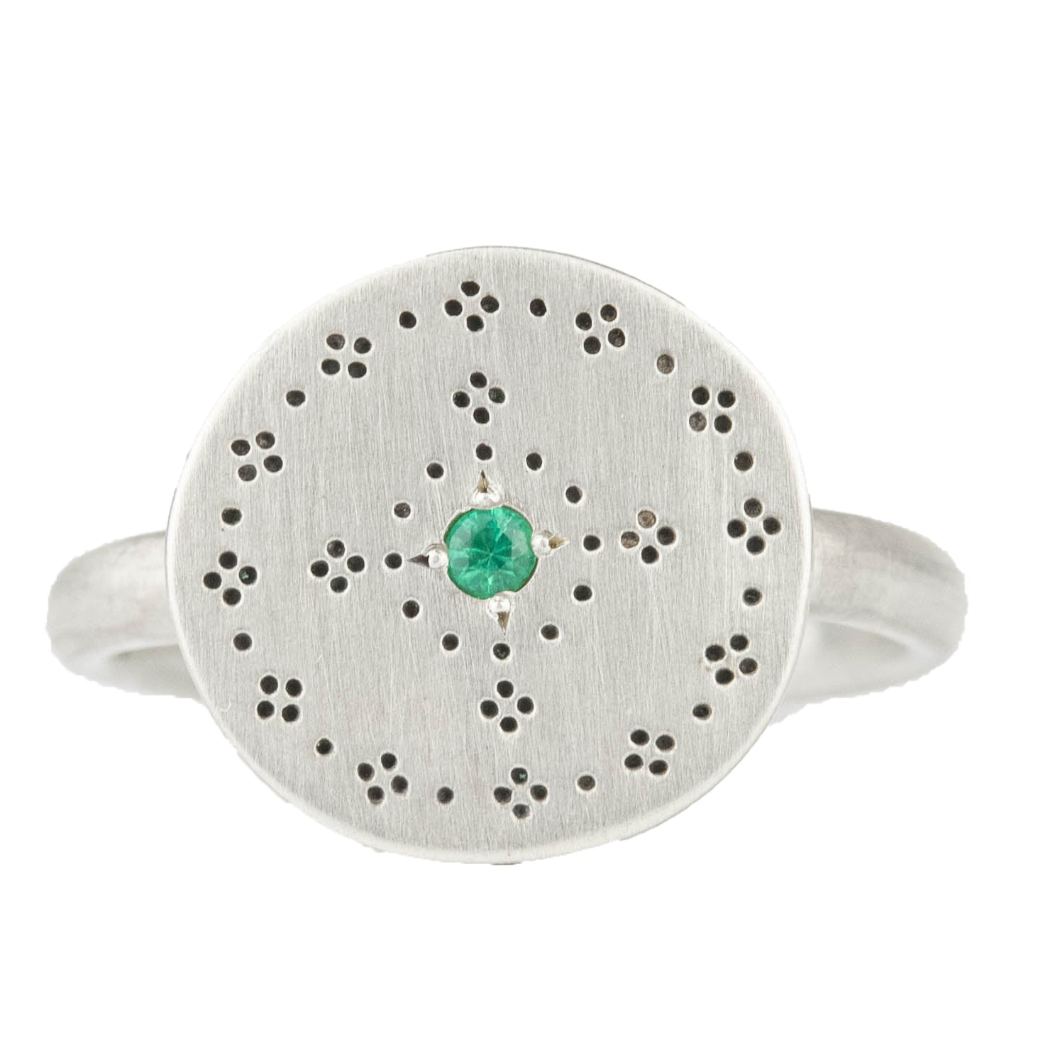 Emerald Nostalgia Ring