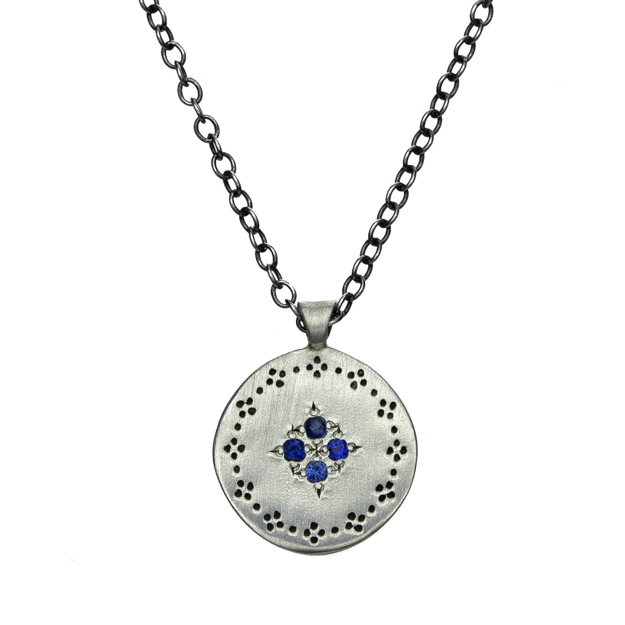 Sapphire Four Star Necklace
