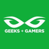 Geeks + Gamers -- Official Logo Tee