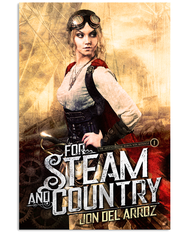 For Steam and Country Cover Poster - JDA - crypto.fashion