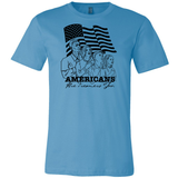 Americans Are Dreamers Too Tee - Dark Lord Designs - crypto.fashion