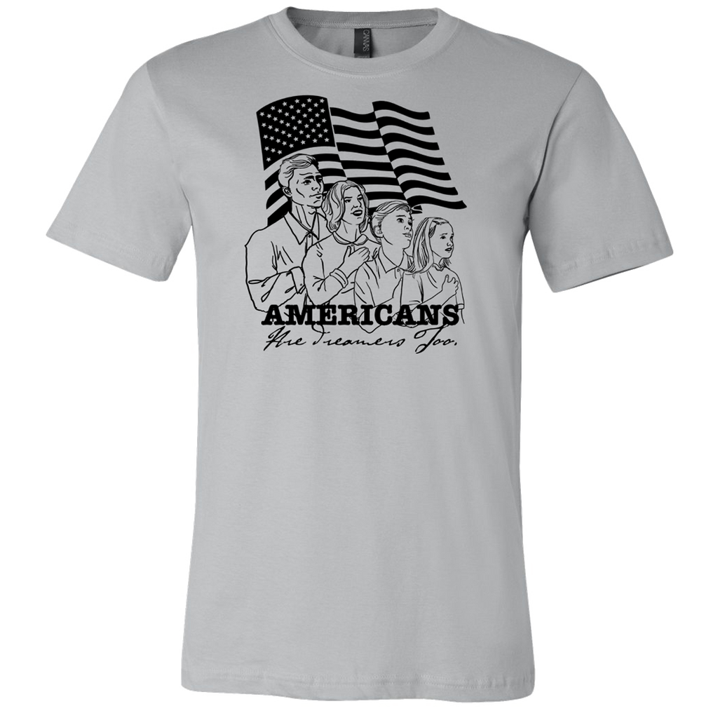 Americans Are Dreamers Too T-shirt - Dark Lord Designs - crypto.fashion - order now