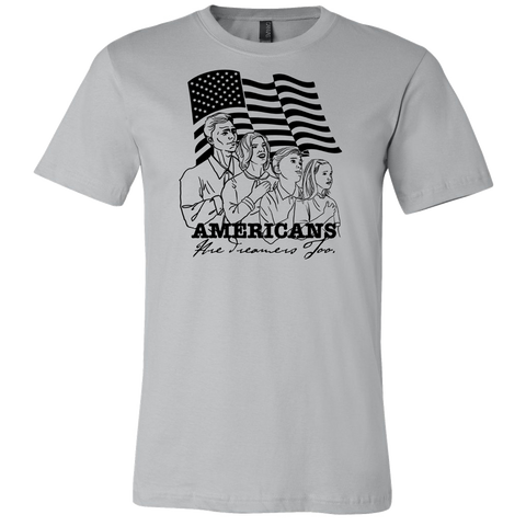 Americans Are Dreamers Too Tee - crypto.fashion