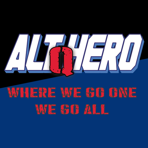 Arkhaven Comics -- AltHero: Q Where We Go One T-Shirt - crypto.fashion