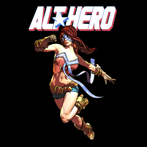 Arkhaven Comics -- Alt*Hero Rebel Tee - crypto.fashion