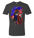 Countries As Heroes -- America T-Shirt - If Countries Were People - crypto.fashion - order now