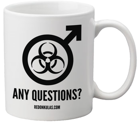 REDONKULAS -- Any Questions? Coffee Mug - crypto.fashion