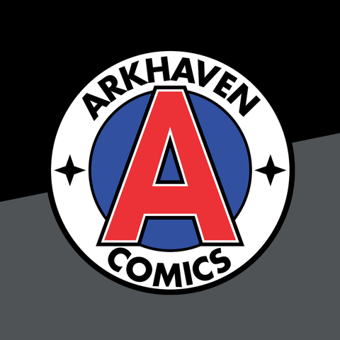 Arkhaven Comics Official Logo T-Shirt - crypto.fashion