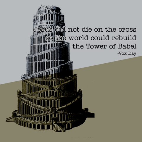 DLD -- The Tower of Babel Tee