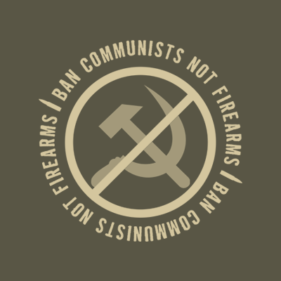 crypto.fashion Ban Communists, Not Firearms tee - crypto.fashion