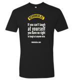 REDONKULAS -- Laugh At Yourself T-shirt - crypto.fashion