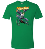 ComicArtistPro Secrets: CYBERFROG T-shirt - Comic Pro - crypto.fashion - order now