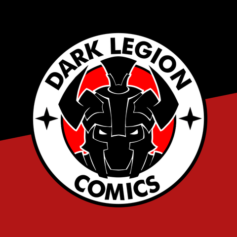Dark Legion Comics -- Official Logo Tee - crypto.fashion