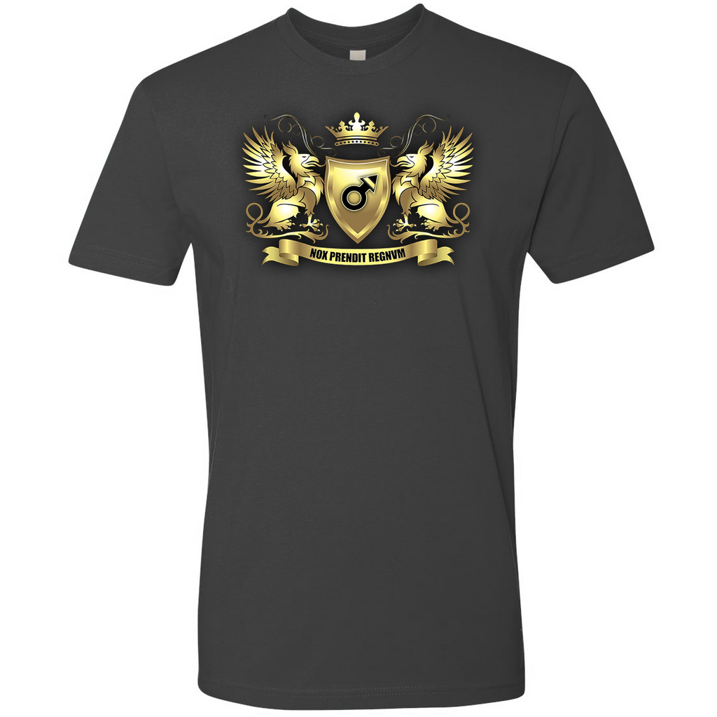 DARK TRIAD MAN® Official Heraldry T-Shirt - Dark Triad Man - crypto.fashion - order now
