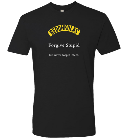 REDONKULAS -- Forgive Stupid - crypto.fashion