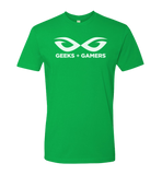 Geeks + Gamers -- Official Logo Tee - G+G - crypto.fashion - order now