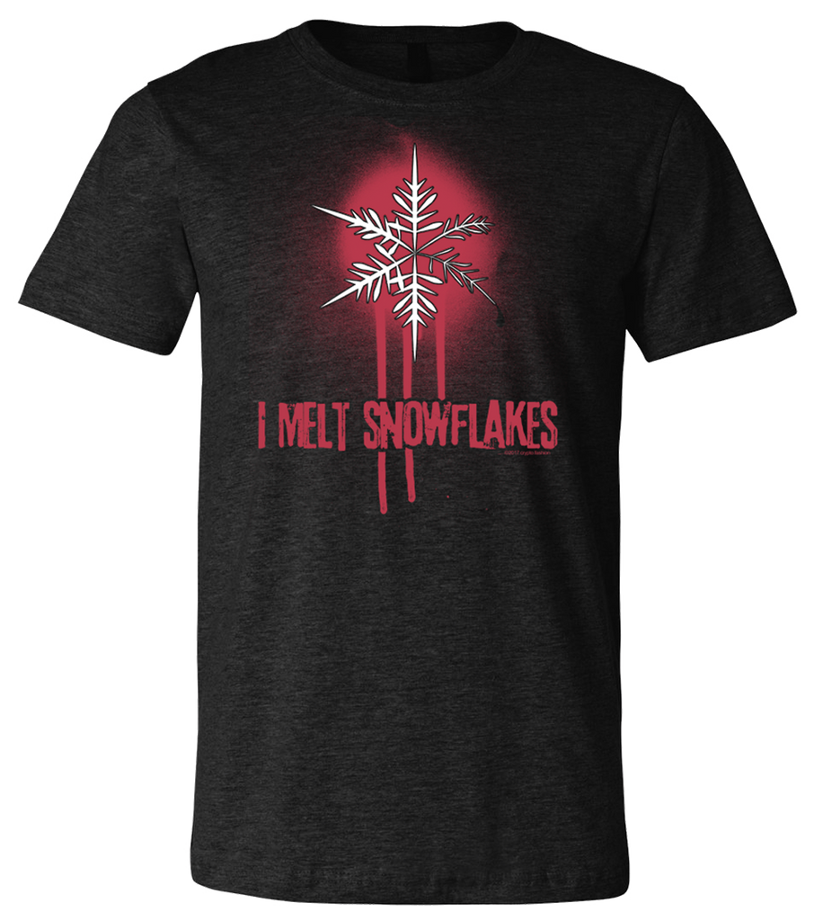 crypto.fashion I Melt Snowflakes tee DISCONTINUED - crypto.fashion