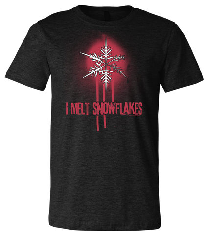 I Melt Snowflakes tee DISCONTINUED - crypto.fashion - crypto.fashion - order now