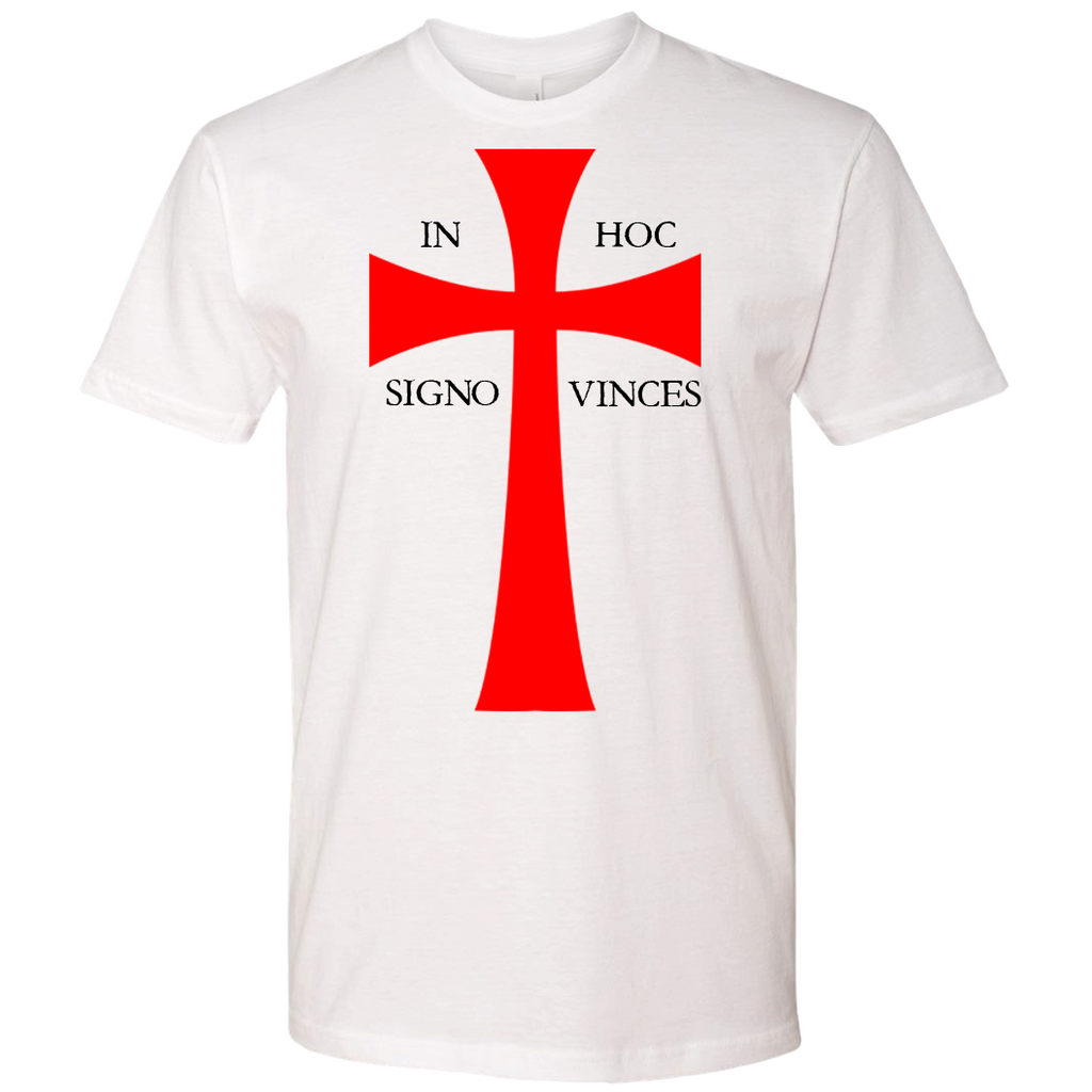 "Men of the West Templar Cross ""In Hoc Signo Vinces"" - crypto.fashion"