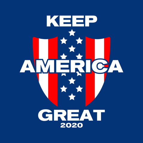 DLD -- Keep America Great -- Trumpslide T-Shirt