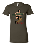 Eric Weathers -- Flying Fortress Betty Tee - crypto.fashion